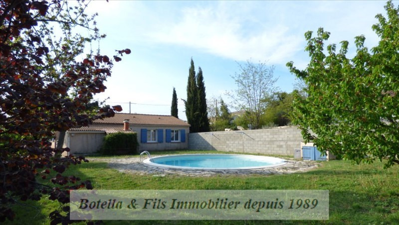 Vente maison / villa Goudargues 237000€ - Photo 1