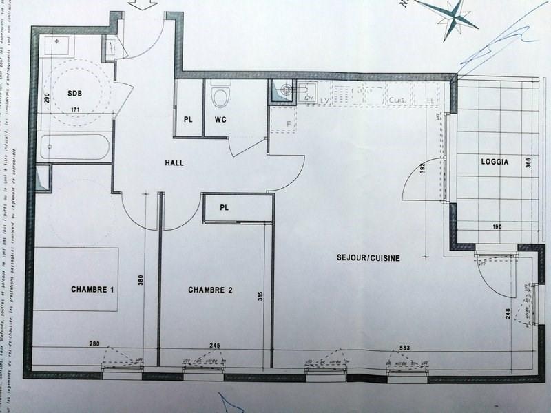 Location appartement Marcy l etoile 745€ CC - Photo 1