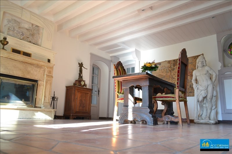 Deluxe sale house / villa St just chaleyssin 539000€ - Picture 2