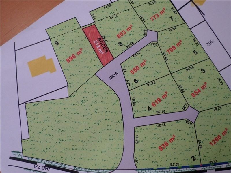 Vente terrain Castelnau d estretefonds 109000€ - Photo 1