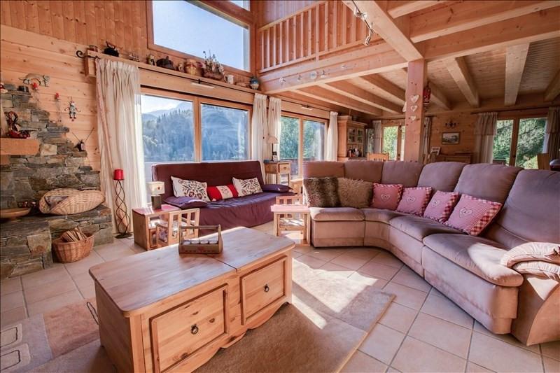 Verkoop van prestige  huis La cote d arbroz 950000€ - Foto 3