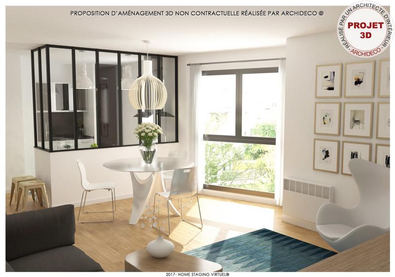Vente appartement Suresnes 340000€ - Photo 1