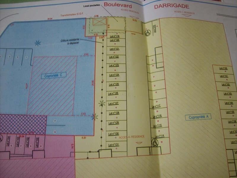 Sale parking spaces Soustons 5000€ - Picture 1