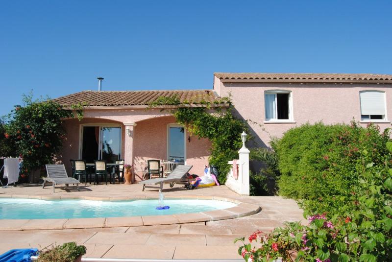 Villa récente avec piscine sur 2200m² du jardin paysagé