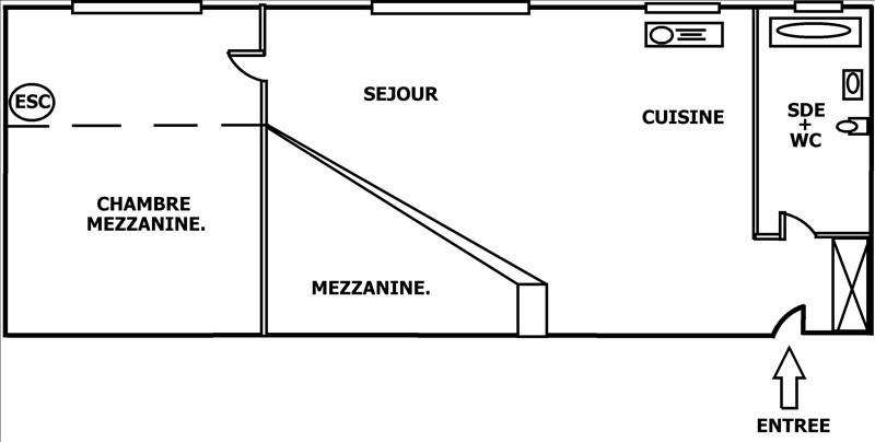 Sale apartment Courbevoie 298000€ - Picture 4