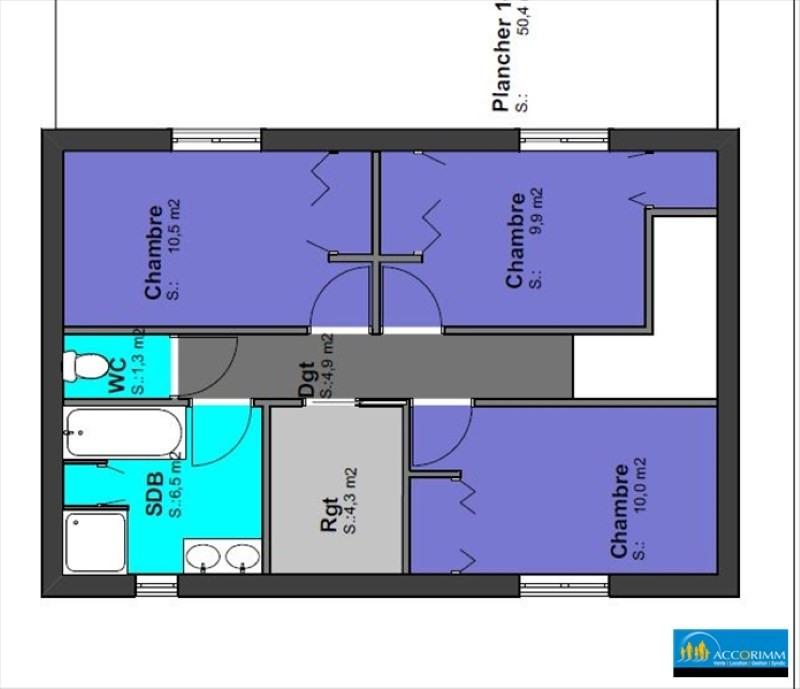 Vente maison / villa St pierre de chandieu 480000€ - Photo 4