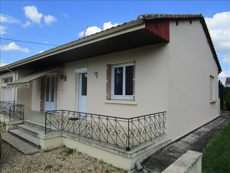 Vente maison / villa Mussidan 113900€ - Photo 1