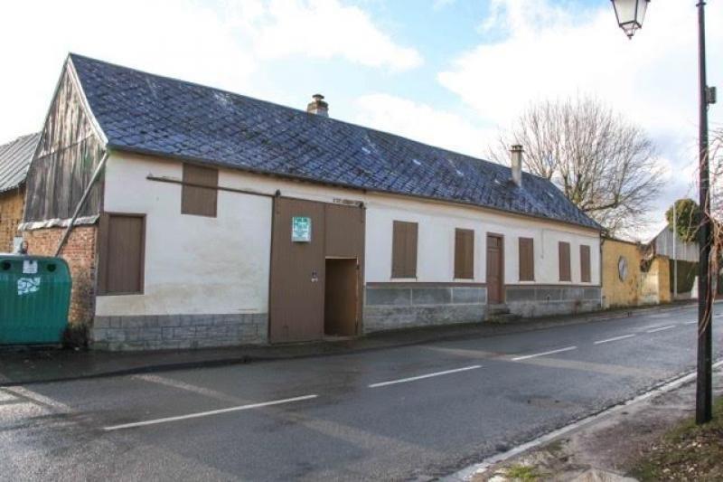 Vente maison / villa Toutencourt 75000€ - Photo 1