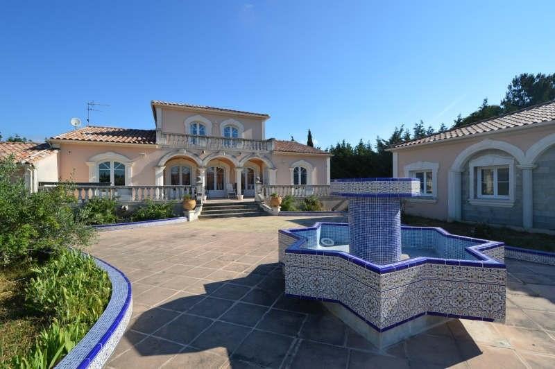 Vente de prestige maison / villa Rochefort du gard 888000€ - Photo 1