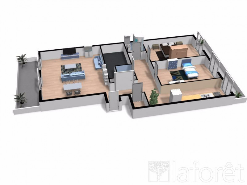 Appartement 3 pièces MENTON - 3 pièce(s) - 60 m2