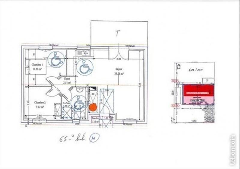 Rental house / villa Arcins 690€ CC - Picture 2