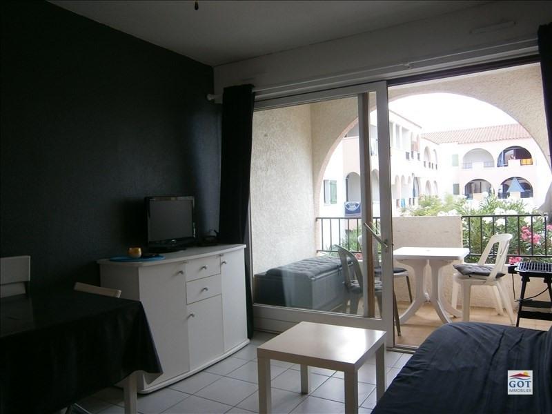 Locação apartamento Le barcares 470€ CC - Fotografia 3