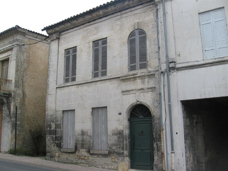 Vente maison / villa Montguyon 70 000€ - Photo 1
