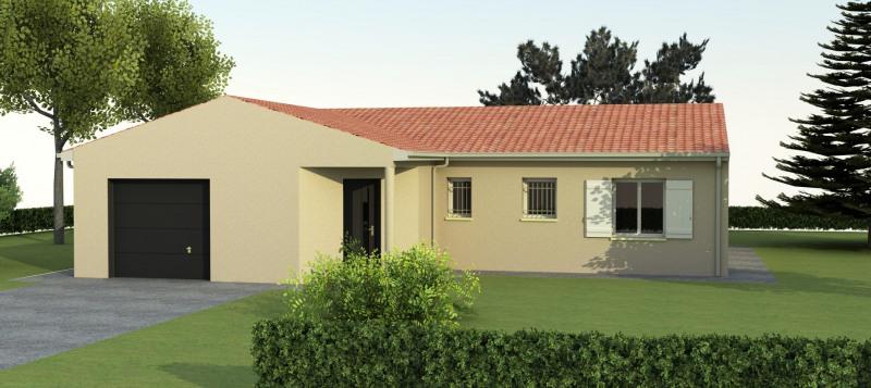"""Modèle de maison  """"Modèle de maison 4 pièces 95m²"""" à partir de 4 pièces Charente par MAISONS CHARENTAISES"""