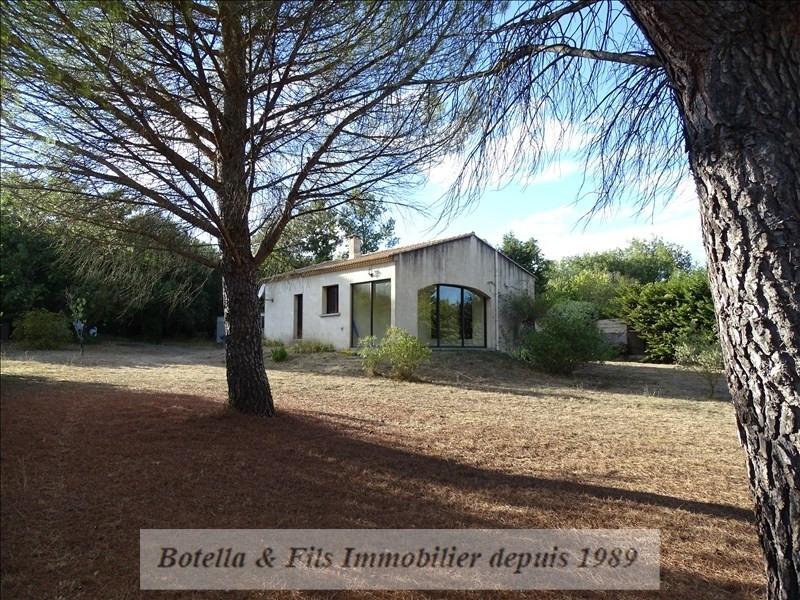 Verkoop  huis Goudargues 168500€ - Foto 1