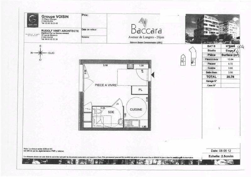 Location appartement Dijon 390€ CC - Photo 8
