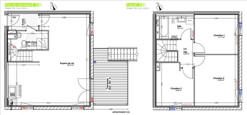 Sale house / villa Vetraz monthoux 430000€ - Picture 2