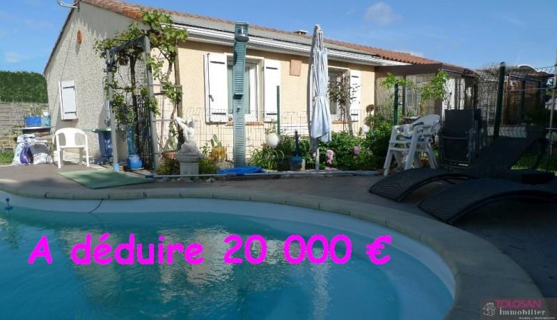 Vente maison / villa Labege secteur 367500€ - Photo 1