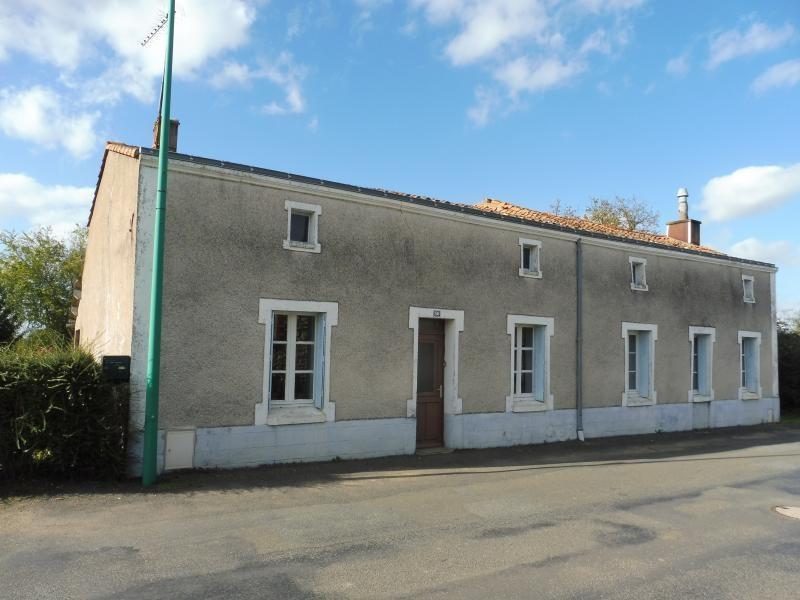 Vente maison / villa St georges des gardes 60000€ - Photo 1