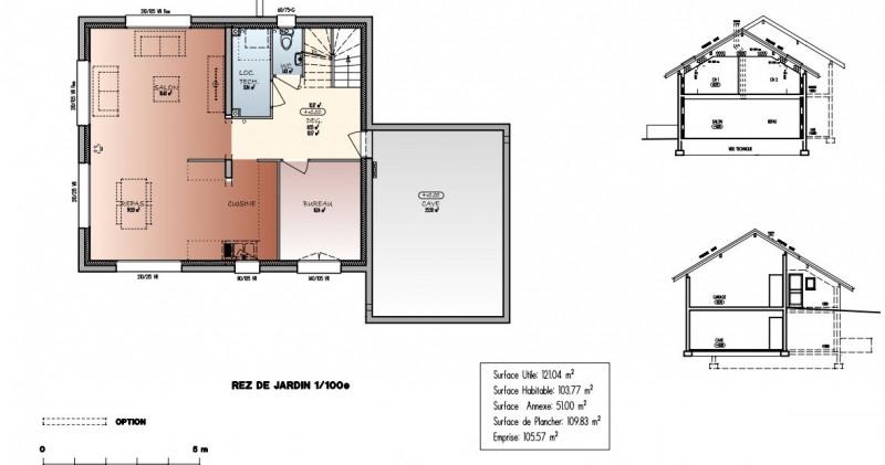 Sale house / villa Saint-martin-bellevue 533500€ - Picture 2