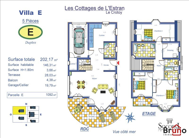 Revenda residencial de prestígio casa Le crotoy 812000€ - Fotografia 4