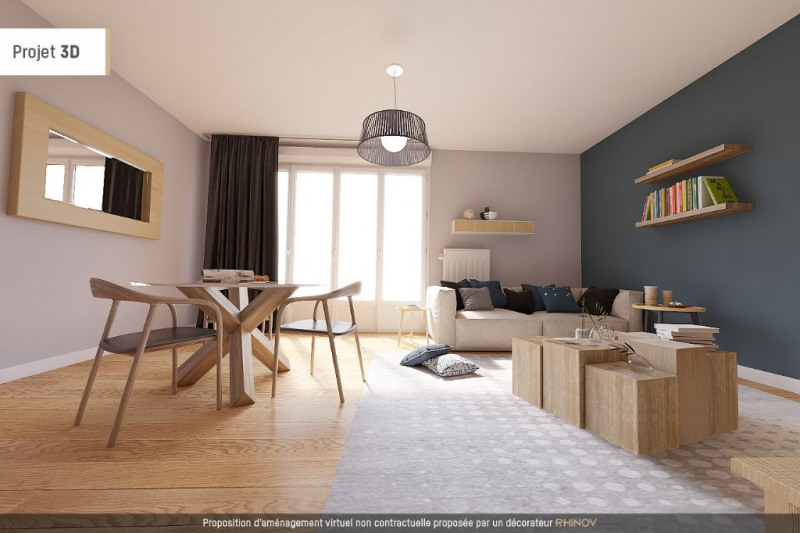 Appartement T3 en RDJ LYON 3 - 75 m²