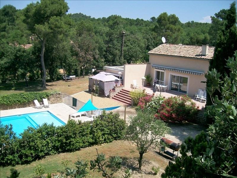 Vente maison / villa Mornas 410000€ - Photo 1