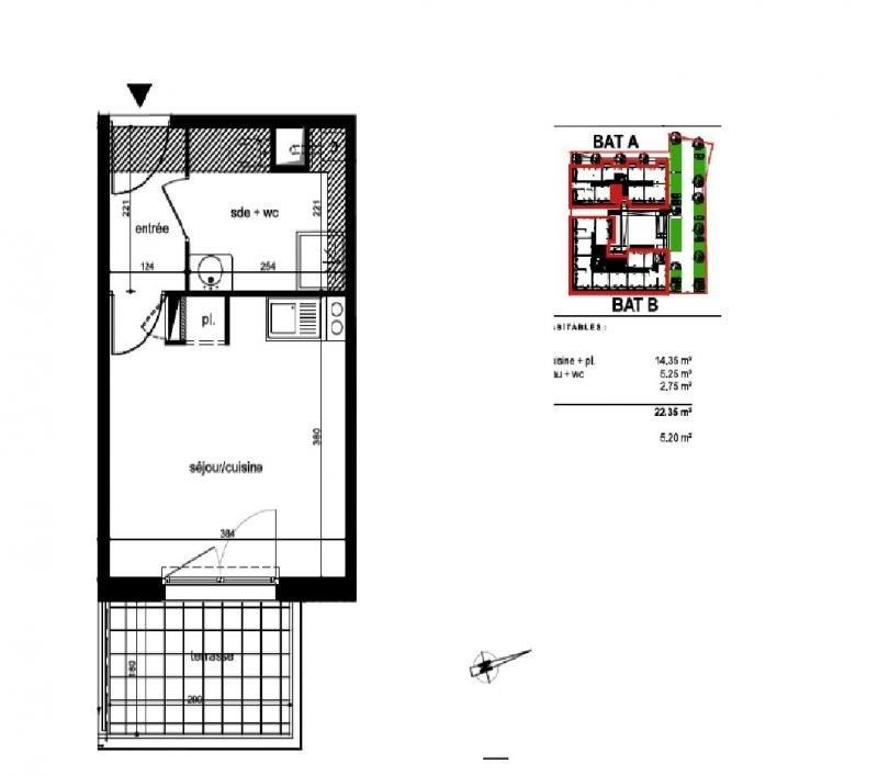 Sale apartment Frontignan 103500€ - Picture 3