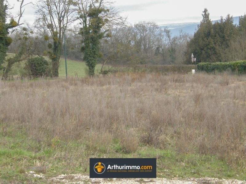 Vente terrain Morestel 77000€ - Photo 1