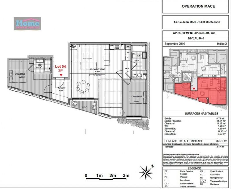 Sale apartment Montesson 384600€ - Picture 5