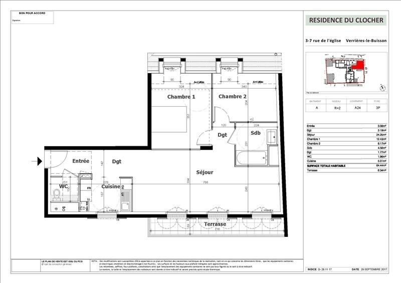Vente appartement Verrieres le buisson 396000€ - Photo 1