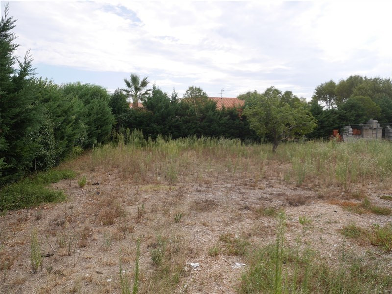 Sale site St laurent de la salanque 102 000€ - Picture 1