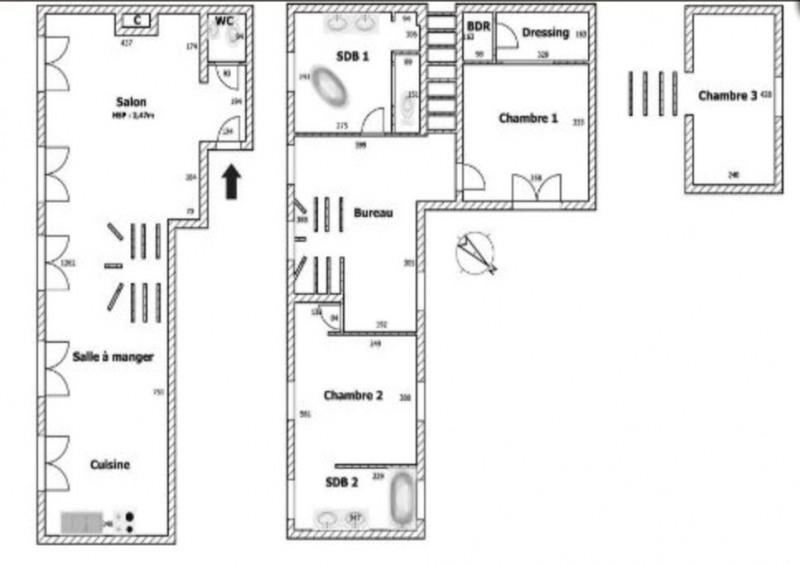 Verkoop van prestige  appartement Paris 3ème 1680000€ - Foto 19