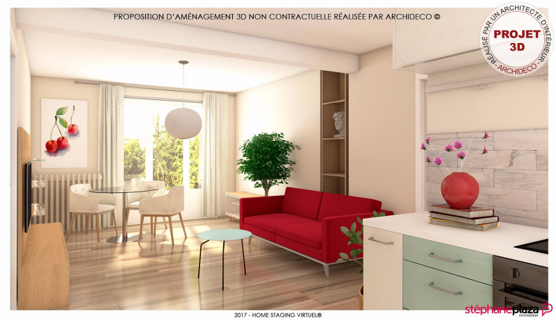 Vente appartement Vaulx en velin 95000€ - Photo 3
