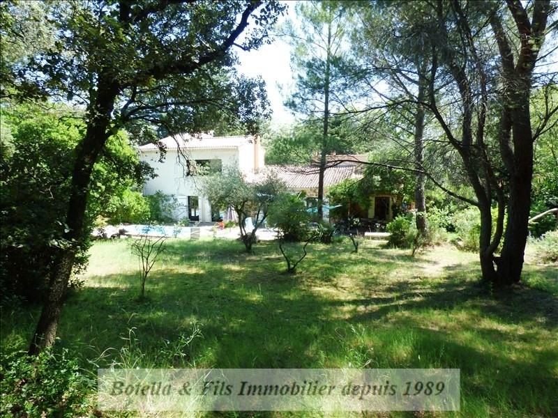Verkoop  huis Uzes 479000€ - Foto 1