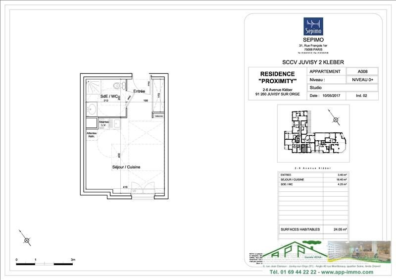 Produit d'investissement appartement Juvisy sur orge 130000€ - Photo 4