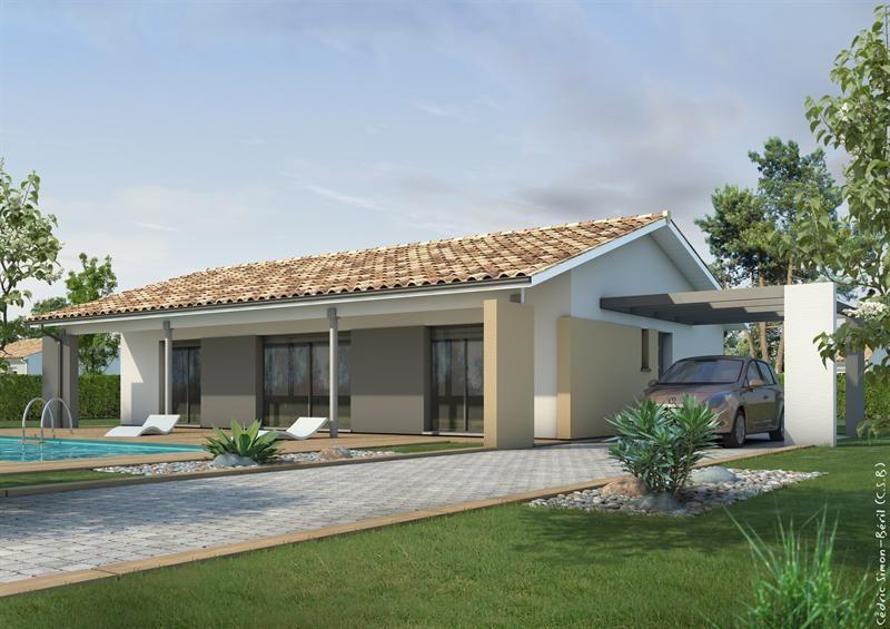 Maison  5 pièces + Terrain 1500 m² Uchacq et Parentis (40090) par LES MAISONS LCA MONT DE MARSAN
