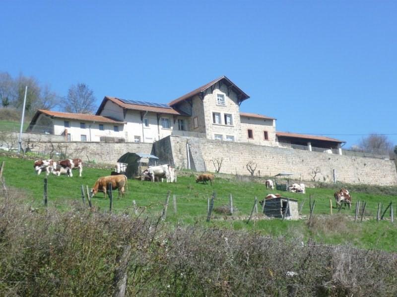Vente maison / villa Ste foy l argentiere 500000€ - Photo 1