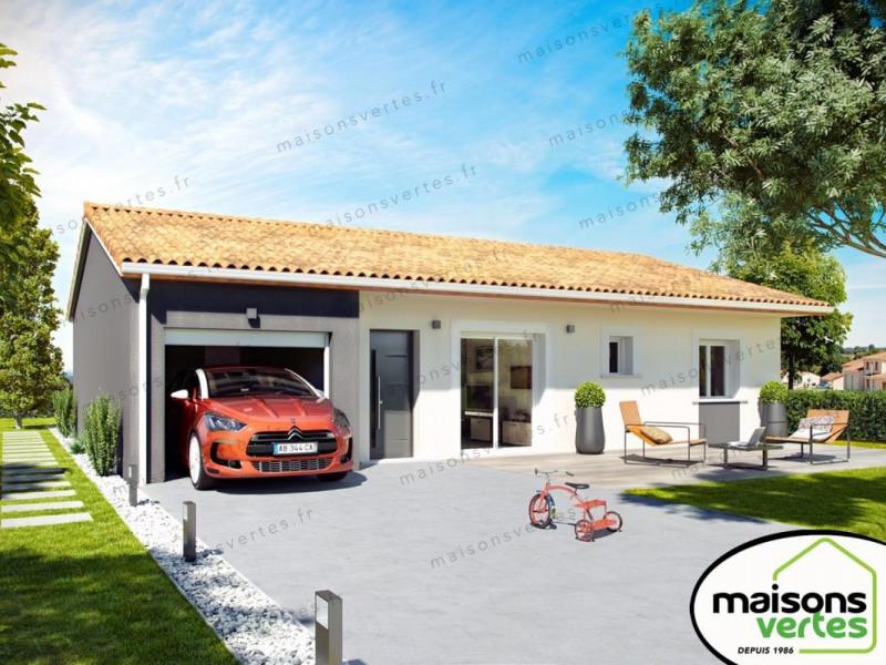 Maison  4 pièces + Terrain 350 m² Clermont-l'Hérault par MAISONS VERTES DE L'AUDE - 34420 VILLENEUVE LES BEZIER