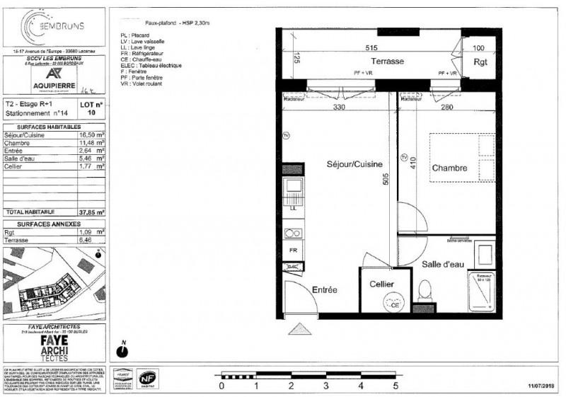 Vente appartement Lacanau ocean 162000€ - Photo 3