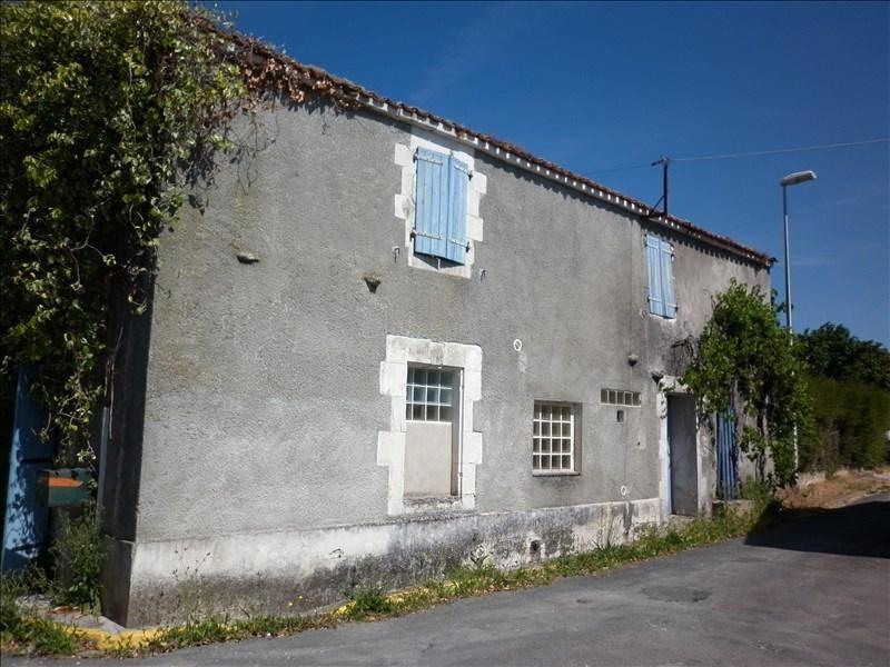 Sale house / villa Thaire 33000€ - Picture 1