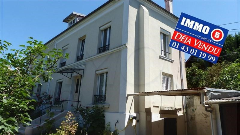 Vente maison / villa Le raincy 376000€ - Photo 1