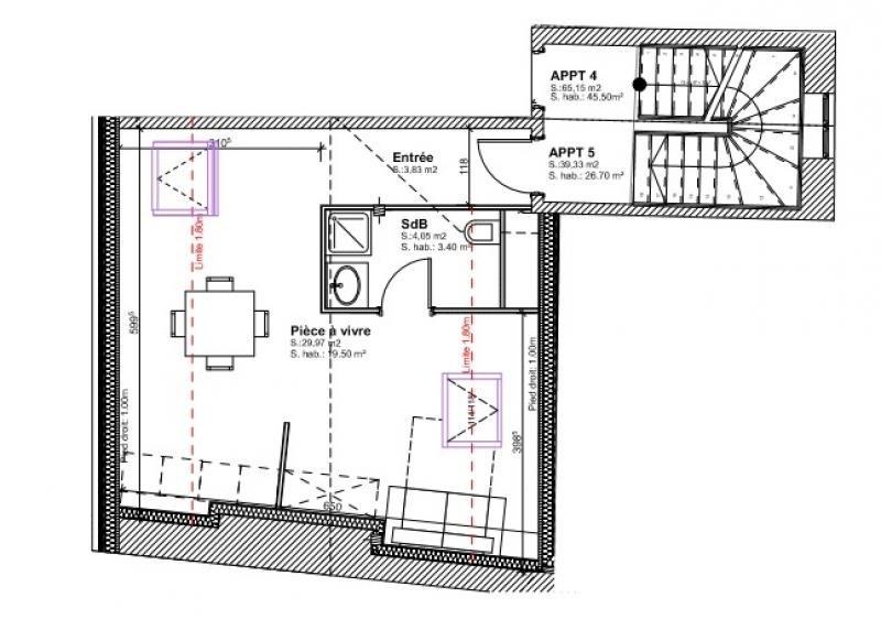 Vente appartement Brumath 58880€ - Photo 1