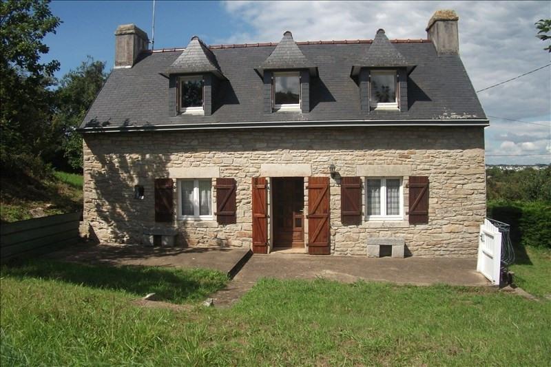 Vente maison / villa Plouhinec 123900€ - Photo 1