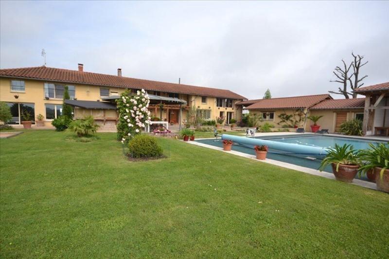 Venta de prestigio  casa Chatillon sur chalaronne 990000€ - Fotografía 1