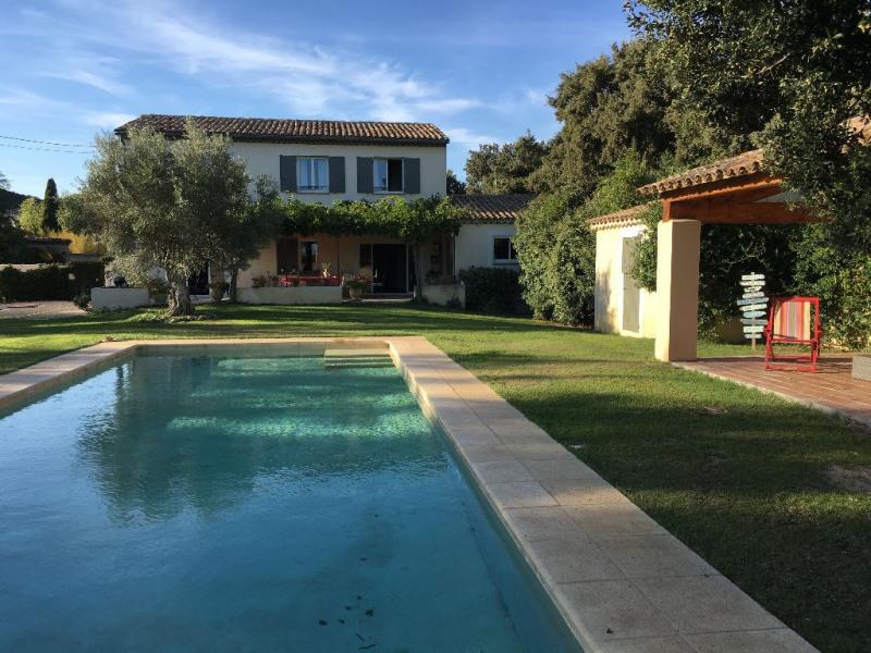 Revenda casa Rochefort du gard 549000€ - Fotografia 5