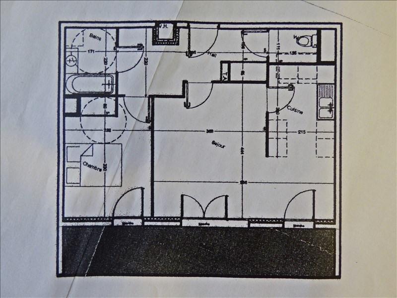 Producto de inversión  apartamento Aix les bains 178000€ - Fotografía 5