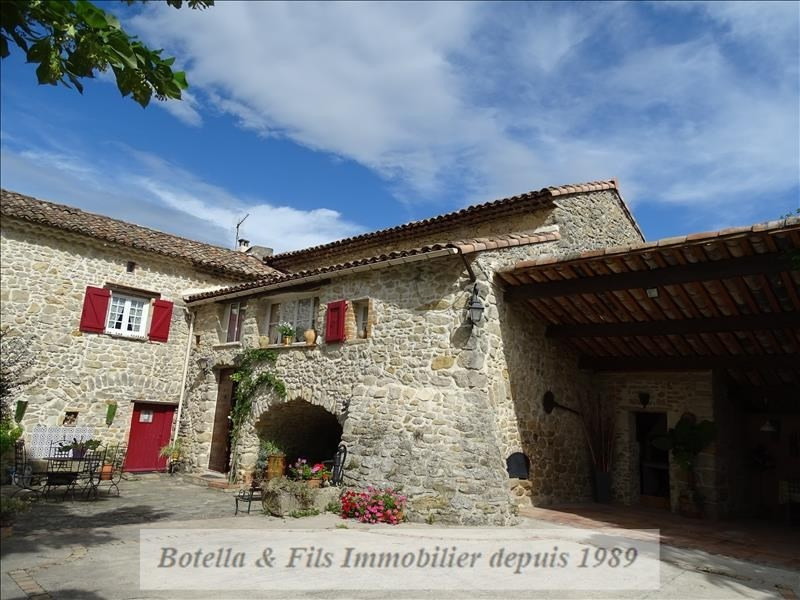 Deluxe sale house / villa Uzes 435 000€ - Picture 2