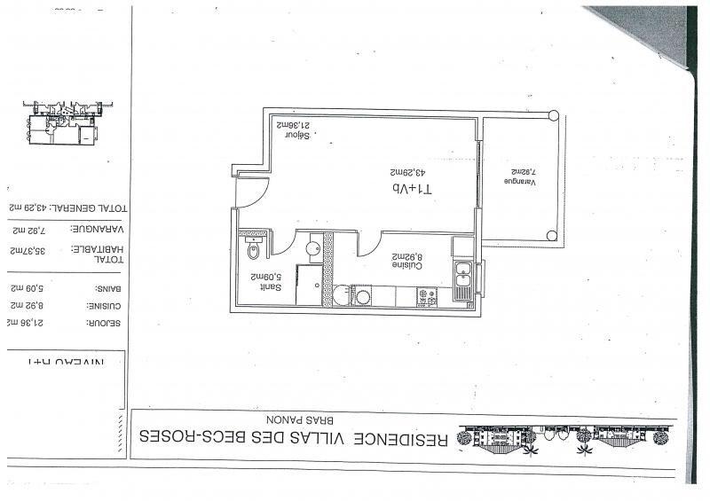 Produit d'investissement appartement Bras panon 56000€ - Photo 2