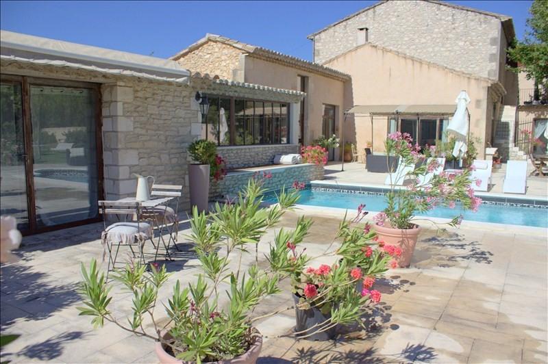 Vente de prestige maison / villa Plan d orgon 754000€ - Photo 1